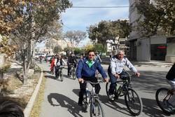 اعزام ۳ کاروان دوچرخه سوار بردسکن به مشهد مقدس