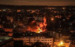 غارات جوية إسرائيلية على قطاع غزة / صور