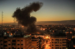 غزہ پر اسرائیل کے جنگی طیاروں کے حملے میں 7 فلسطینی شہید