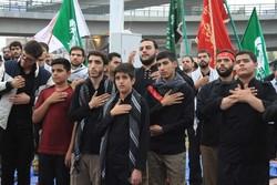 مراسم عزاداری خیابانی در تبریز برگزار شد