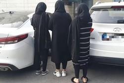 سرقت خودروهای لوکس از سوی دختران جوان پس از طرح رفاقت با مالکان