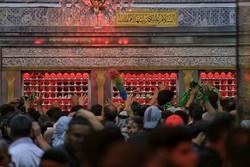 حضرت امام حسین (ع) کے حرم میں زائرین اربعین کا حضور