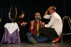 Chekhov's 'The Bear' on stage in Tehran