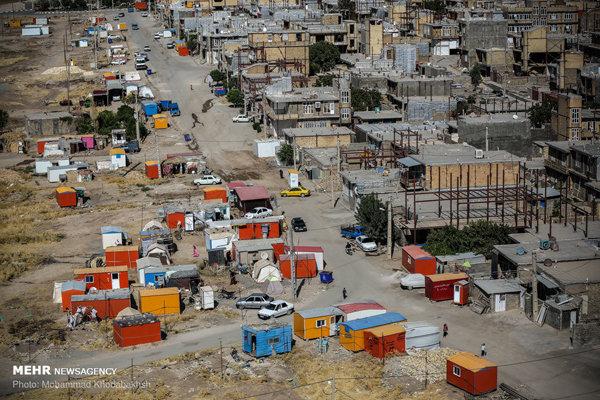 بازسازی مناطق زلزله زده کرمانشاه شهریور امسال به پایان می رسد
