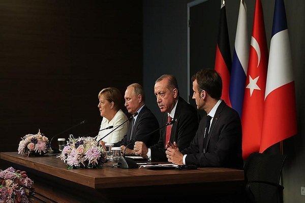 Türkiye, Rusya, Almanya ve Fransa'dan Ortak Suriye Bildirisi