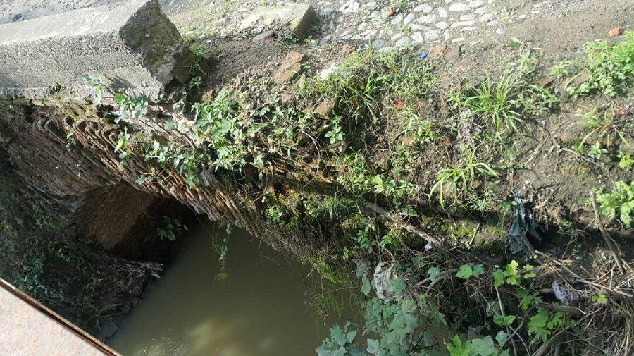 مرمت تنها پل خشتی رشت درگیر اما واگرها | خاکبرداری بدون طرح مطالعاتی