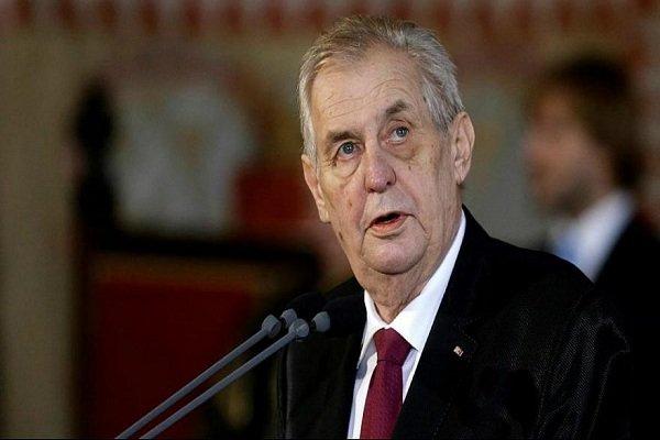 رئیسجمهور چک در بیمارستان نظامی بستری شد