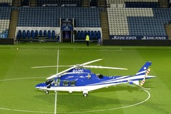New footage shows moment Leicester owner's helicopter plummets to ground