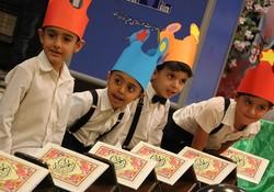 جشن قرآنی کودکان در گناوه برگزار شد