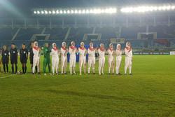 دختران فوتبالیست جوان ایران مغلوب میزبان شدند اما صعود کردند