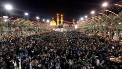 Arbaeen pilgrims, Karbala (file photo)