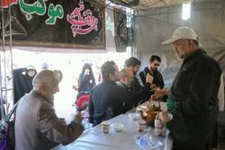 خدمات رسانی مردم بشرویه به عزاداران حسینی در نجف