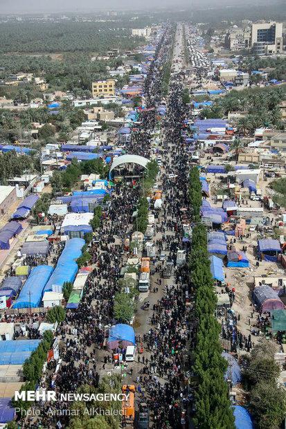 تصویر هوایی از کربلای معلا