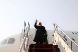 ظريف يغادر طهران متجهاً نحو إسطنبول التركية