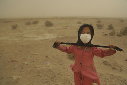 Sandstorm in S Iran