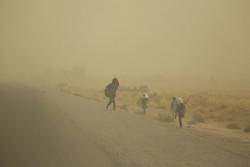 شاخص کیفیت هوای ریگان در وضعیت خطرناک/ راه ارتباطی ۱۹ روستا مسدود شد