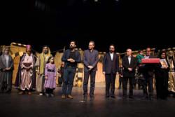 قدردانی گروه نمایش «خاتون» از خانواده شهید مدافع حرم