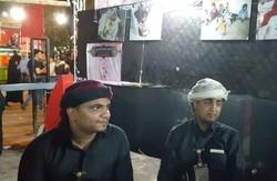 فلم/ کربلائے معلی میں یمنی عوام پر آل سعود کے مظالم کے بارے میں نمائشگاہ برپا