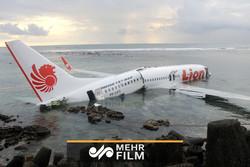 فیلمی از داخل هواپیمای اندونزی در هنگام سقوط
