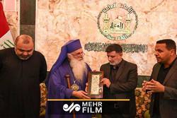 فلم/ اربعین کے عظیم پیدل مارچ کے بارے میں عیسائی پادری کی مؤثر گفتگو