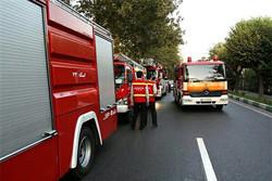 آتشسوزی در بیمارستان بعثت/۴۰ بیمار منتقل شدند