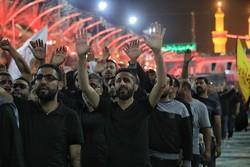 مراسم عزاء الأربعين الحسيني في كربلاء/ صور