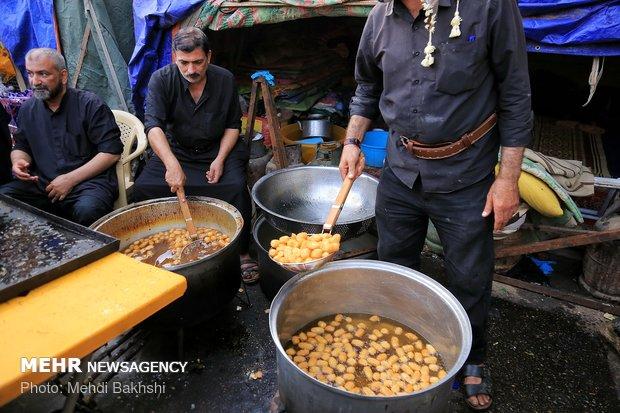 پذیرایی کربلایی ها از زائران اربعین حسینی