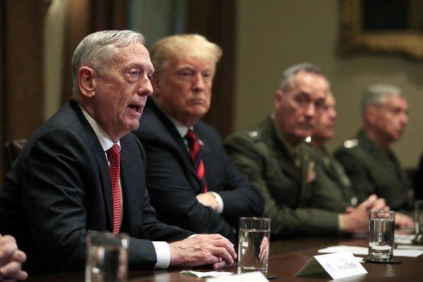 واکنش ها به کناره گیری وزیر دفاع آمریکا