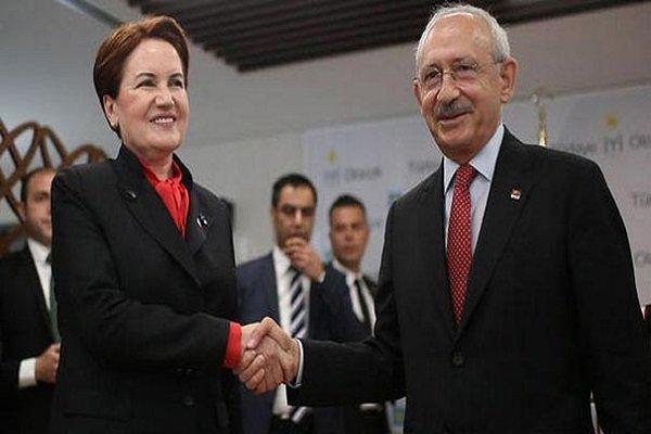 Saray'daki törene Kılıçdaroğlu ve Akşener katılmadı