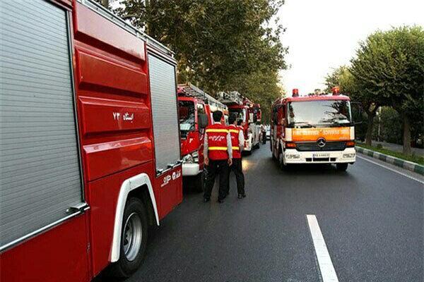 ۳۰ پرسنل آتش نشانی ارومیه آماده ارائه خدمات در سالن غدیر هستند