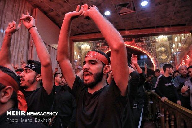 عزاداران اربعین حسینی در کربلا