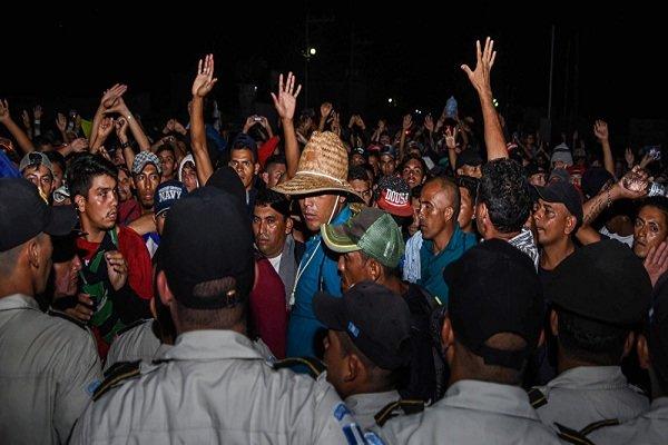 آمریکا ۵ هزار نیروی گارد مرزی در مرزهای خود مستقر میکند