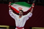 Iran wins 3 medals at World Karate C'ships
