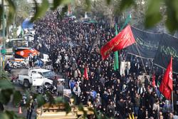 مسيرة الأربعين الحسيني في العاصمة طهران /صور