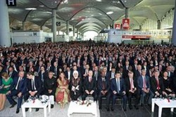 Iran FM attends opening ceremony of Istanbul Airport