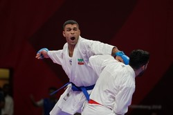 Iranian fighters win two gold medals at WKF Karate 1-Series A