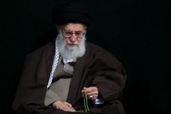 İslam Devrimi Lideri'nin huzurunda matem merasimi