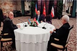 İran-Türkiye-Azerbaycan Üçlü Dışişleri Bakanları Toplantısı başladı
