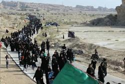 پیادهروی ۱۵ هزار نفری «حرم تا حرم» در دیر برگزار شد