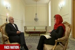 Iranian Foreign Minister Mohammad Javad Zarif in an interview with CBS news website