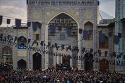 مراسم عزاء أربعين الحسين في مدينة شيراز /صور