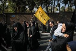 راهپیمایی جاماندگان اربعین در تهران -۲