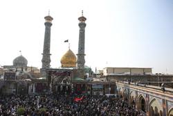 حضرت شاہ عبدالعظیم کے حرم میں سید الشہداء کا اربعین