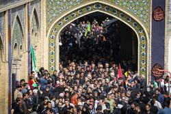 """الأربعين الحسيني في مرقد """"عبد العظيم حسني ع""""بطهران /صور"""