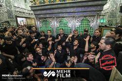 فیلمی از عزاداری روز اربعین در حرم حضرت عبدالعظیم حسنی (ع)