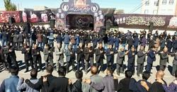 مردم عاشورایی آذربایجان شرقی در اربعین حسینی به سوگ نشستند