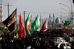 راهپیمایی جاماندگان اربعین حسینی در  استان ها - ۲