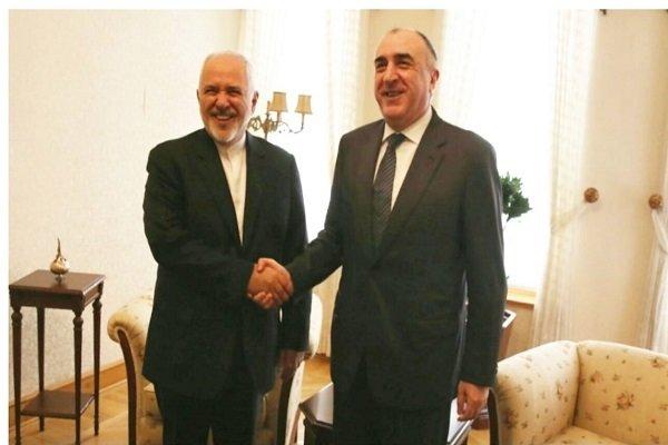 Zarif, Azerbaycan Dışişleri Bakanı ile görüştü