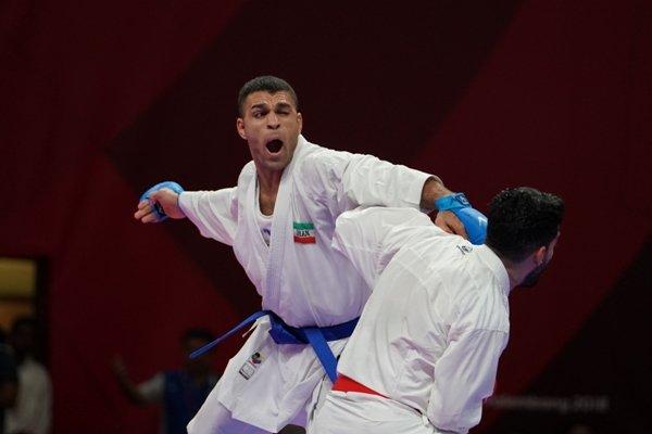 پورشیب از گربه سیاه انتقام گرفت/ یک طلای دیگر برای کاراته ایران