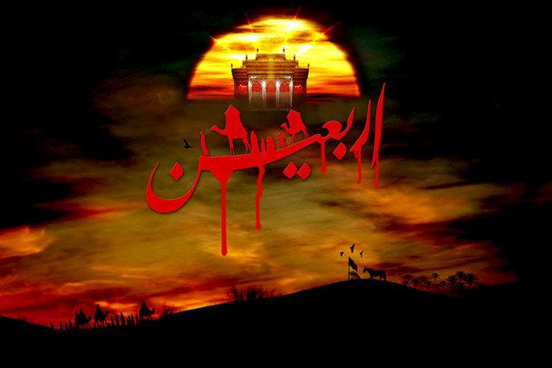 شاهد العتبة الحسينية المقدسة في يوم الأربعين /فيديو
